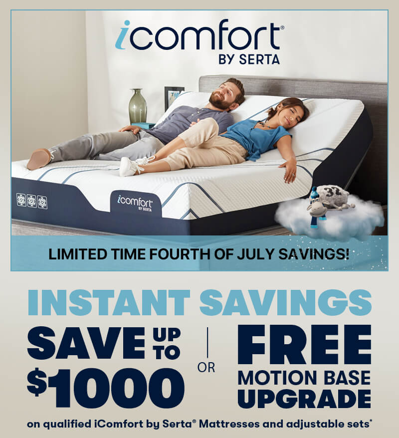 Serta iComfort Fourth of July Savings